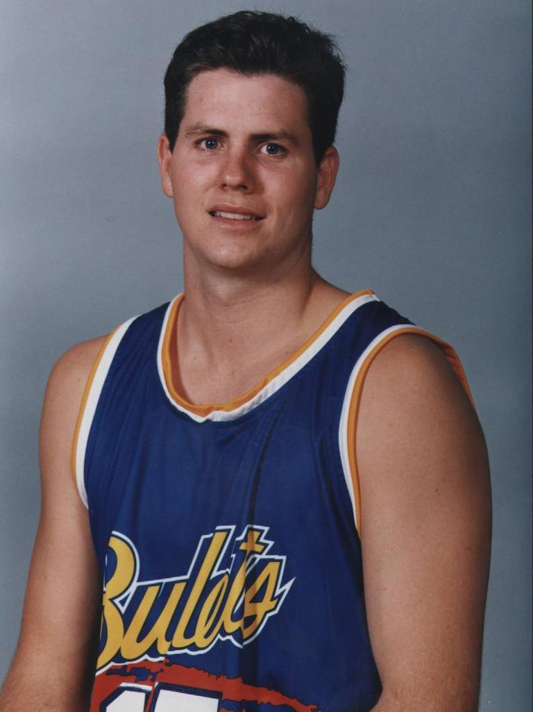Former Brisbane Bullets basketballer Ryan Stolberg.