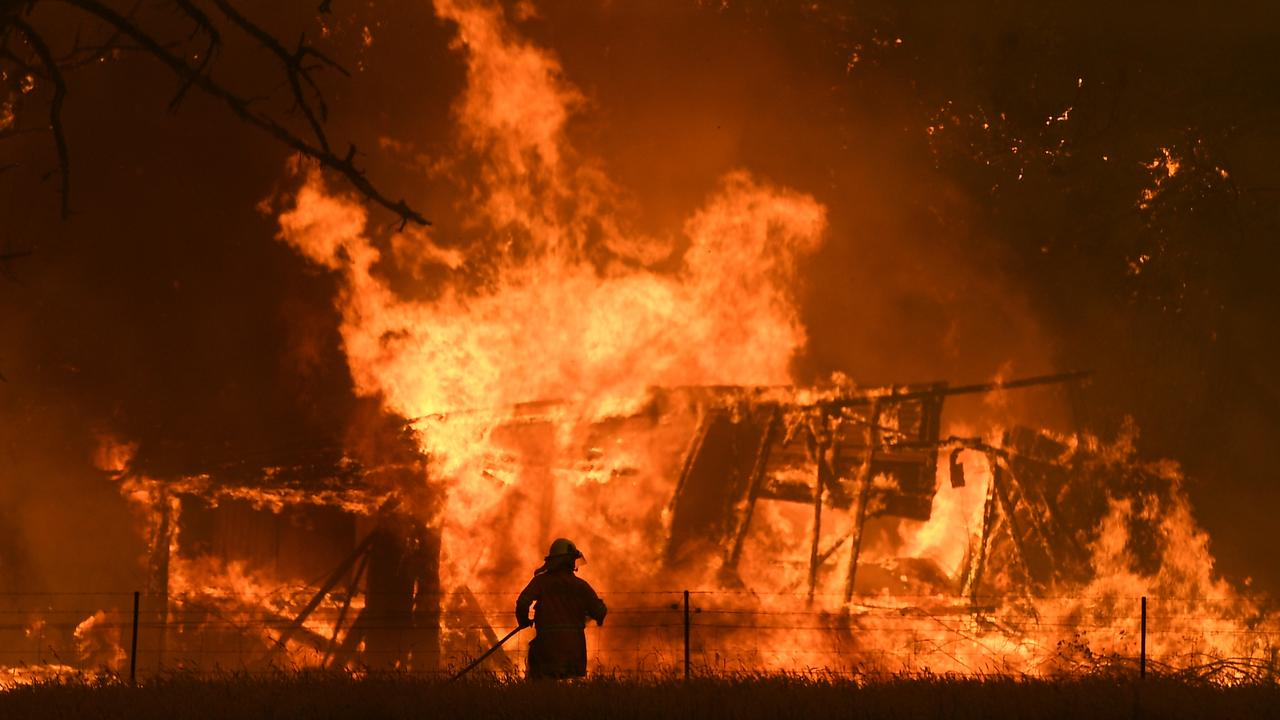 The ferocity of the Black Summer bushfires shocked Australians. Picture: Dan Himbrechts/AAP