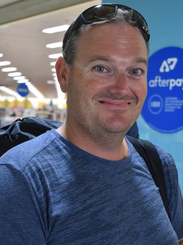 Bowen resident Bill Moxham, 37, at Caneland Central, Mackay, on Thursday December 10. Picture: Zizi Averill