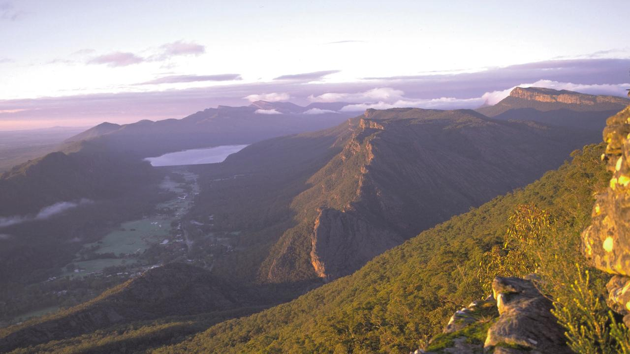 The lookout shows panoramic views of the Grampians National Park. Picture: Supplied