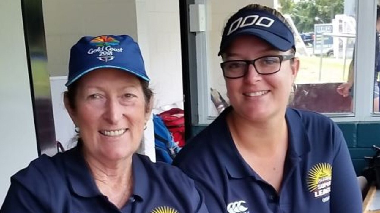 Bernadette Gotting and her daughter Caitlin, both experienced technical officials.