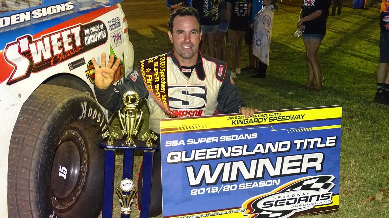 Many Ipswich sporting families have elite winners, like Australian speedway racer Mat Pascoe.