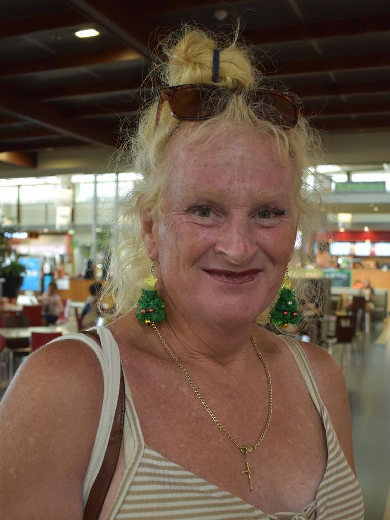 Mirani resident Danielle Marshall, 62, at Caneland Central, Mackay, on Thursday December 10. Picture: Zizi Averill