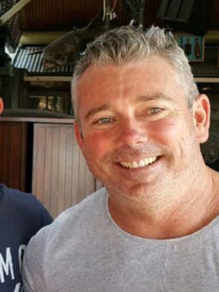 Gold Coast shark attack victim Nick Slater who died in Sept, 2020.