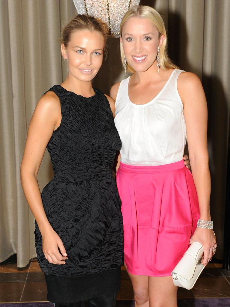 Rianna Ponting (right) believes Lara's arrival on the scene changed everything.
