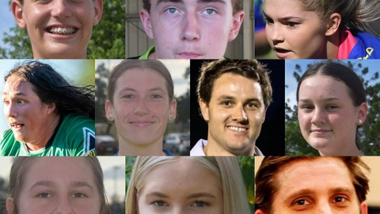 79 Gympie athletes have been recognised as the best and fairest players in their sports this year.