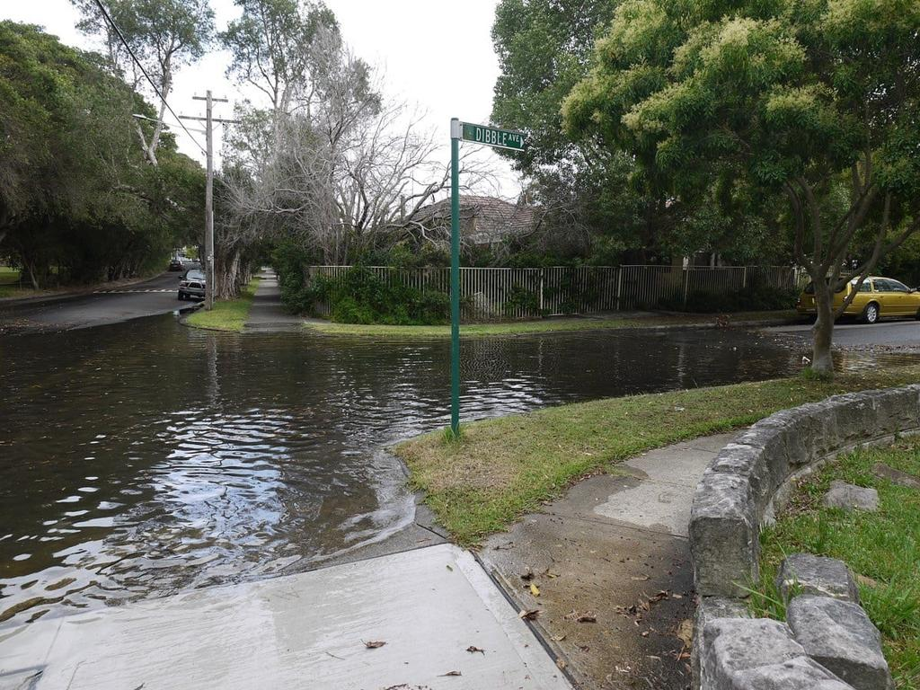 Flooding at Tweed Heads on Sunday. Picture: NSW SES Facebook