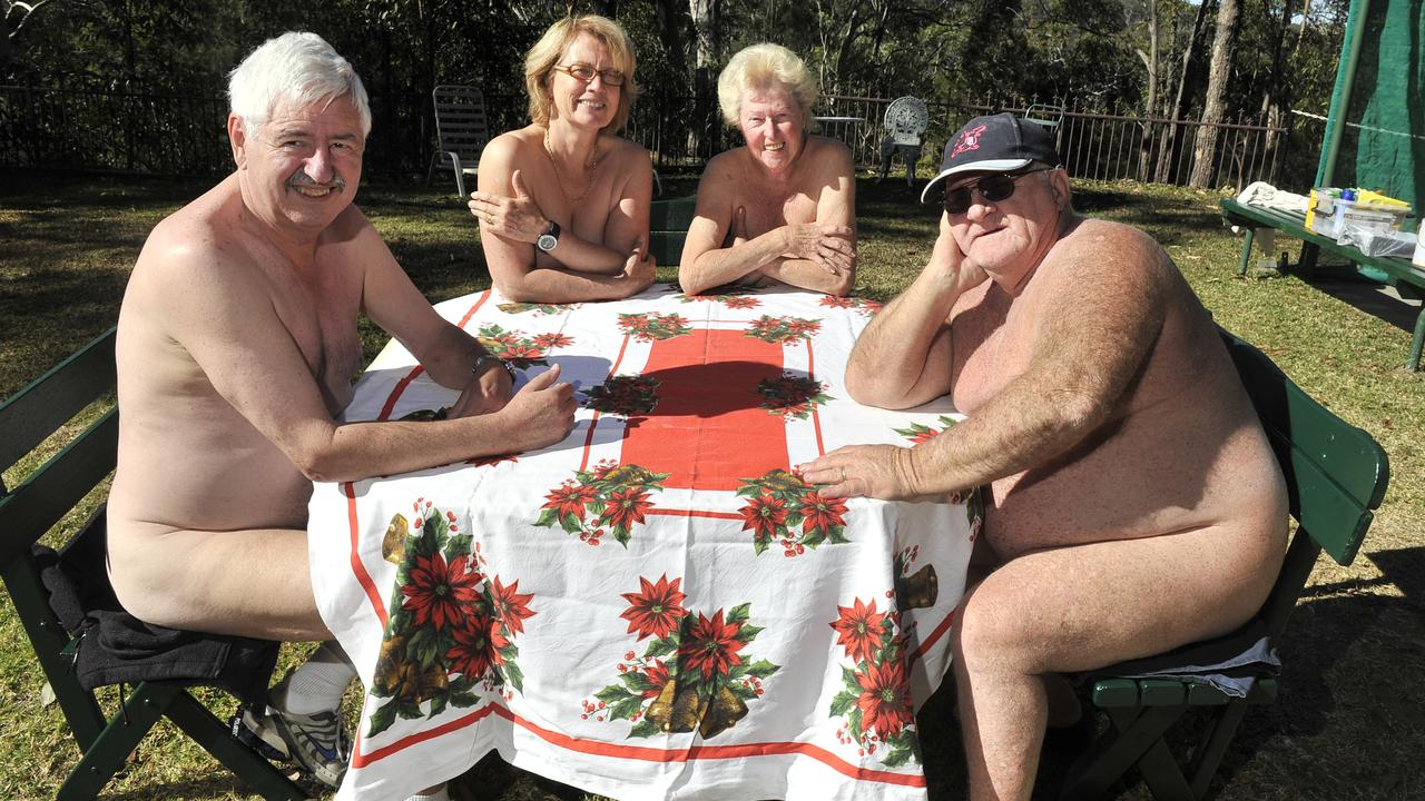 Members of the Campbelltown Heritage Club at Minto Heights, 013. Have you visited a nudist retreat? Email us at heidi.petith@news.com.au