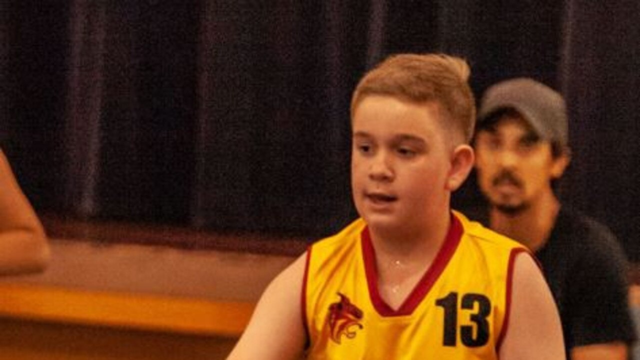 Daniel Dighton was a standout performer in the Gympie Basketball season this year.