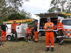 SES crews brave heavy weather to help residents