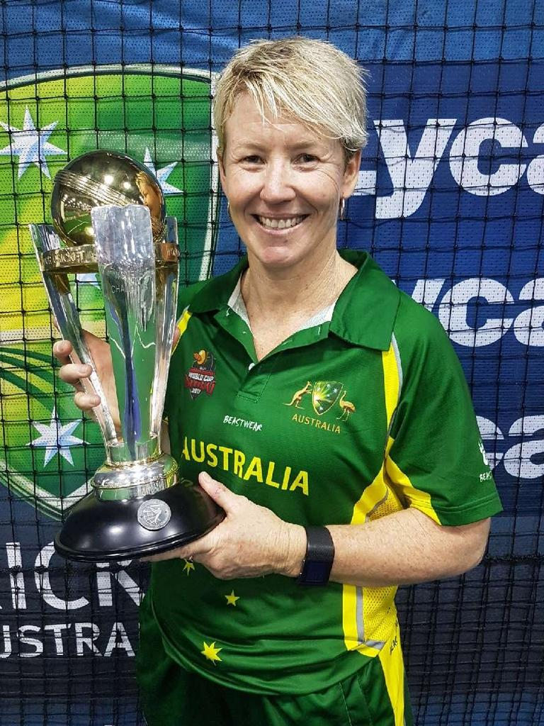 Ipswich World Cup-winning indoor cricketer Dulane Carson.