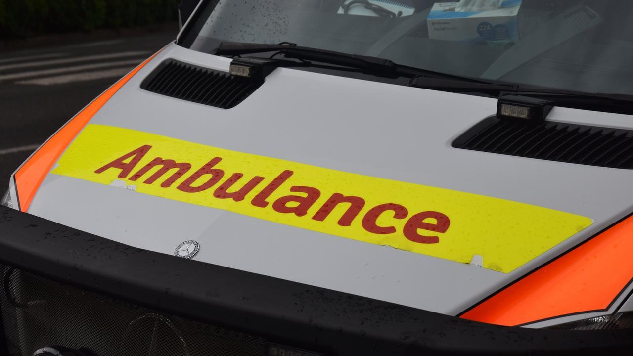 Paramedics responded to a crash at Eerwah Vale.