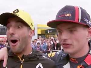 Ricciardo gamble steals ex's thunder