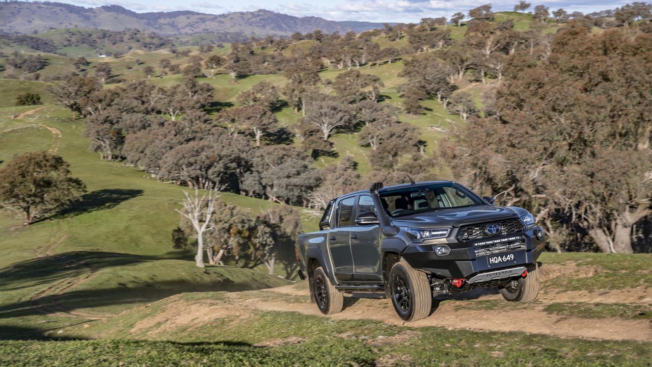 A 2020 Toyota HiLux Rugged X. FILE PHOTO