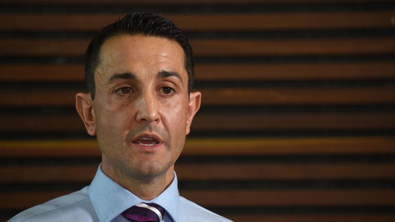 Opposition Leader David Crisafulli