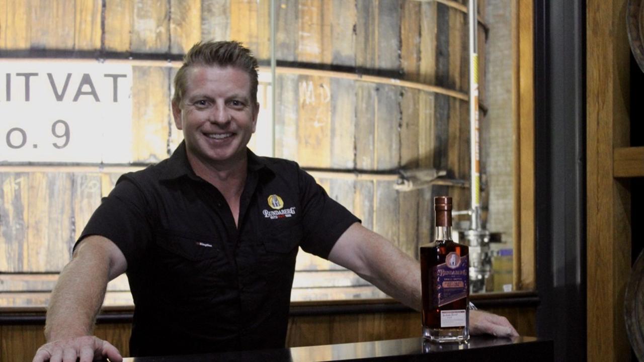 Bundaberg Rum's Distillery Marketing and Experience Manager Duncan Littler.