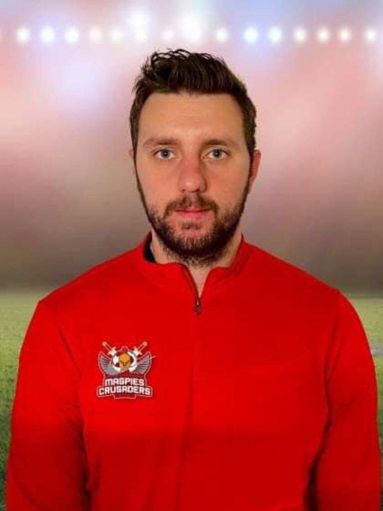 New Magpies Crusaders signing Benji Mujanic.