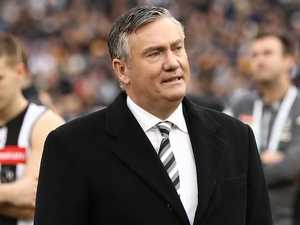 Tearful Eddie McGuire announces footy end date