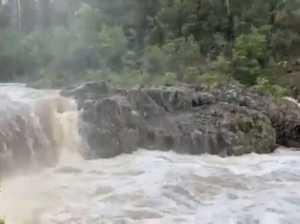 Wappa Dam overflows