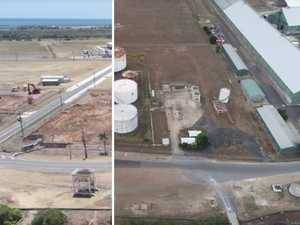 Why old fuel tank terminal was demolished at Bundy Port