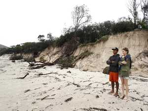 Council 'disappointed' by sand erosion stickybeaks