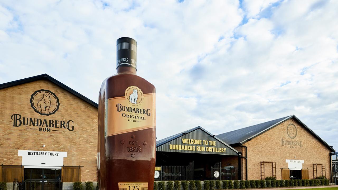 The Bundaberg Rum Distillery. Photo: Bundaberg Rum
