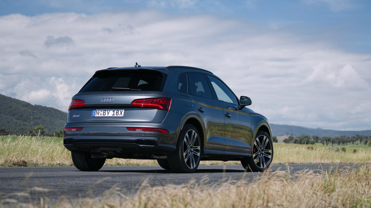 The diesel SQ5 is actually faster than the petrol-powered version.