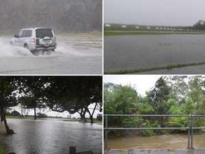 IN PHOTOS: Heavy rain, rough seas lash the Coffs Coast