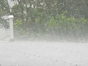 Which 5 places have topped the rainfall charts?