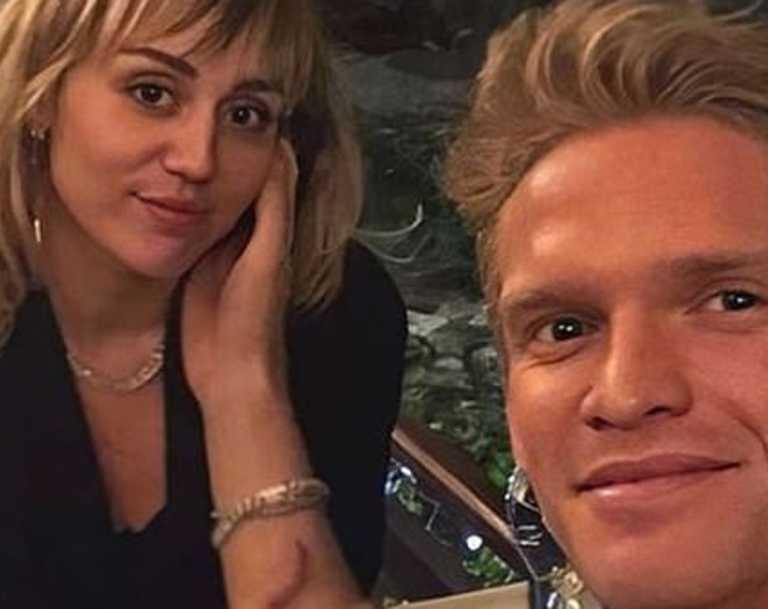 Miley may still be cheering her ex-boyfriend on in Tokyo.