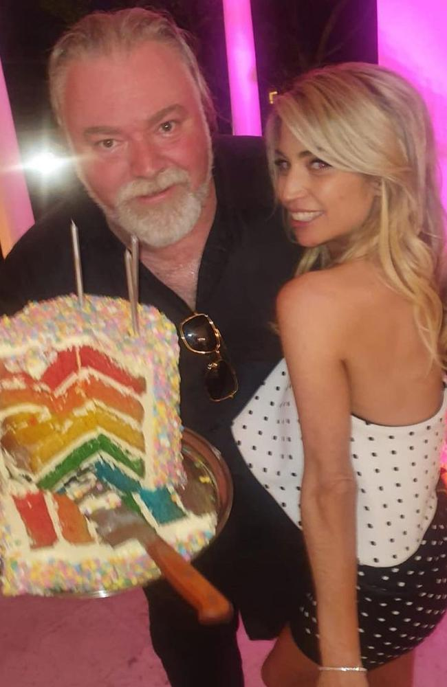 Kyle Sandilands throws Tegan Kynaston a lavish 35th birthday party. Picture: Instagram