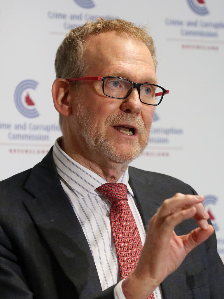 CCC chair Alan MacSporran