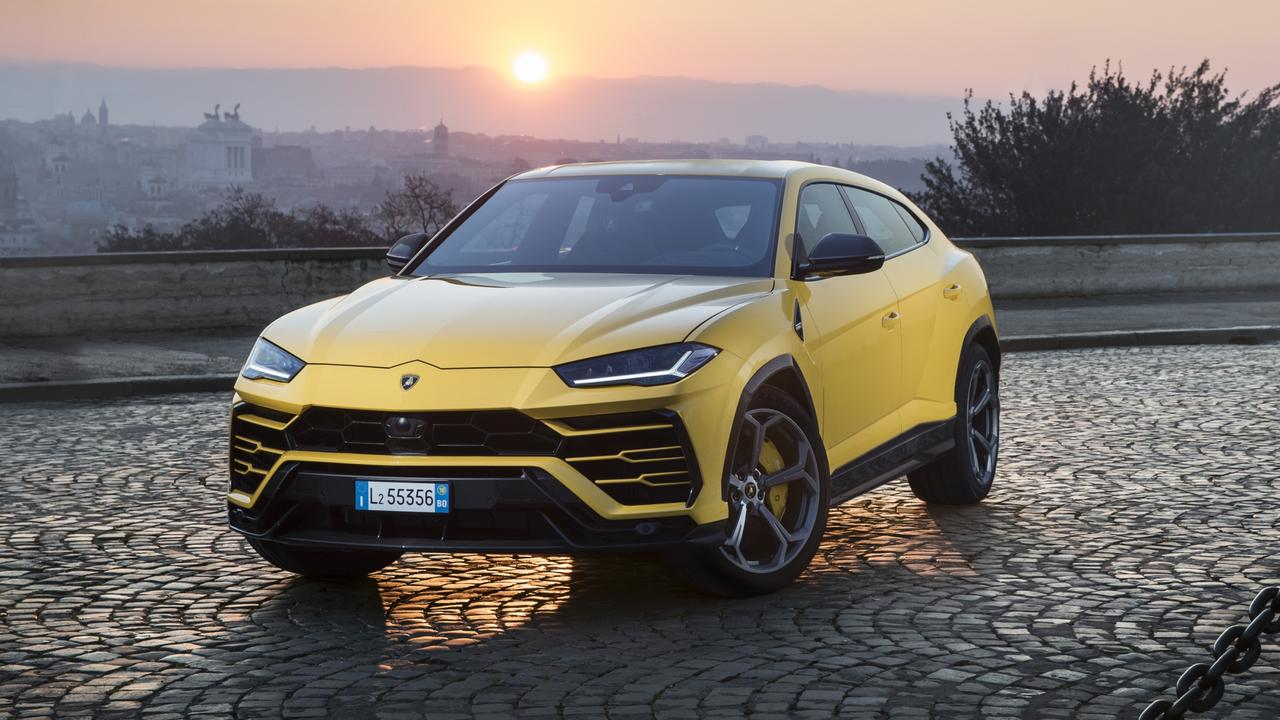Photos of the 2019 Lamborghini Urus
