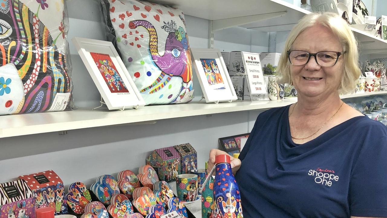 SHOPPE ONE: Owner Janice Palmer said Shoppe One is thrilled to welcome talented Northern Rivers artist Donna Sharam on December 19, where she will sign her popular designs which adorn Maxwell & Williams chinaware. Photo: Alison Paterson