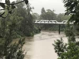 Lismore CBD prepares for moderate flooding