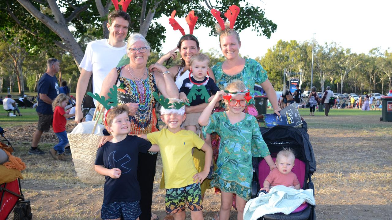 The Warner family at Rockhampton Carols by Candlelight 2020. Picture: Jann Houley