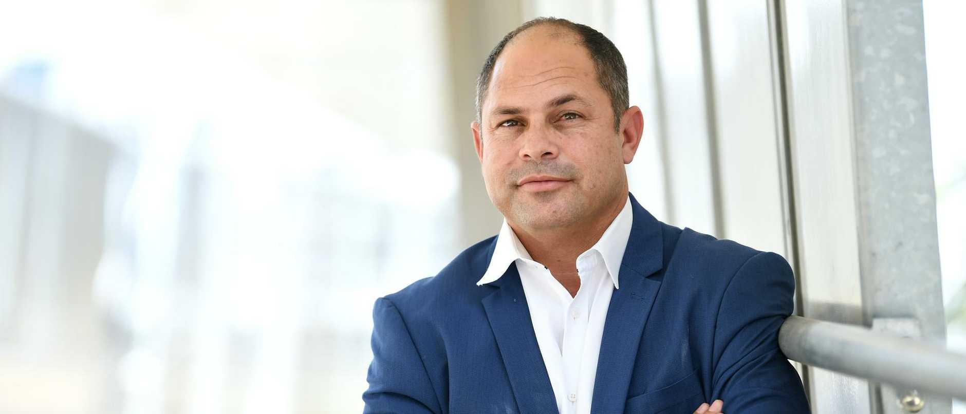 The CEO of North Stradbroke Island's Aboriginal entity has announced his shock resignation following the re-election of Labor.