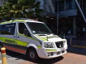 Woman hospitalised after Gladstone CBD crash