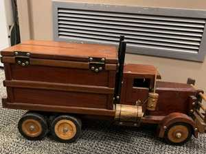 LOST: Can you help deliver this truck to its owner?