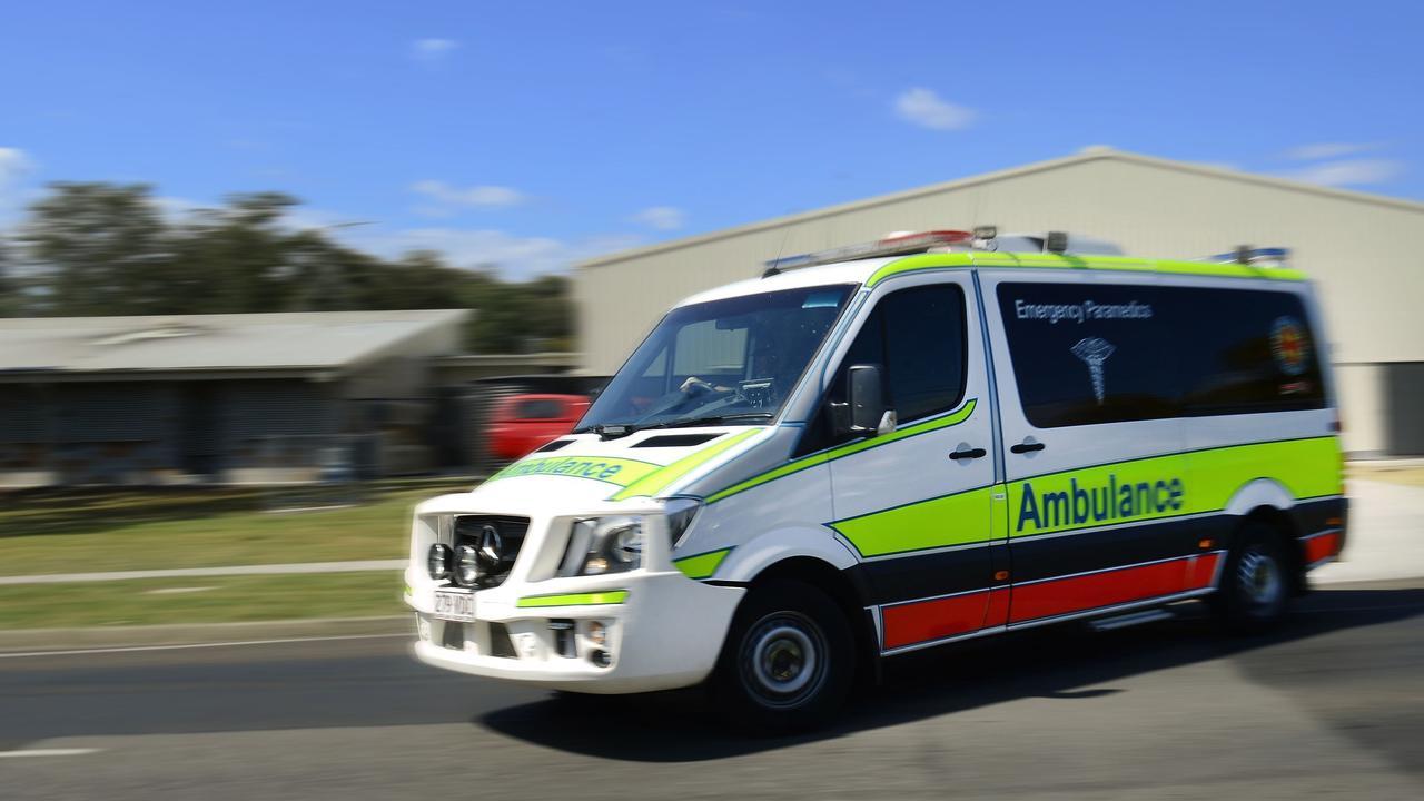 Queensland Ambulance Service are at the scene. FILE PHOTO