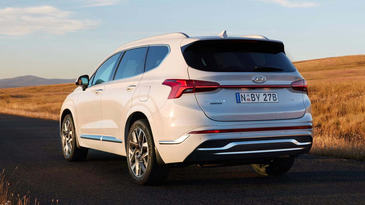 Hyundai updated the Santa Fe this year.