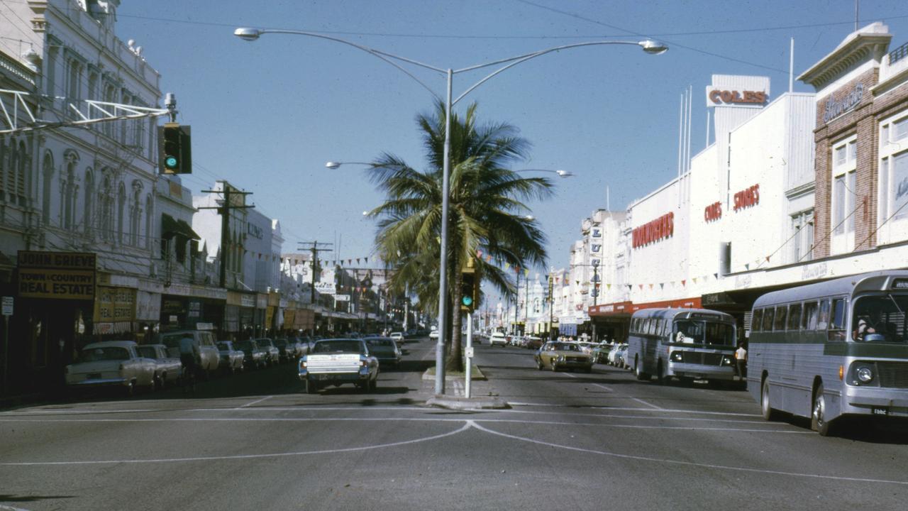 East St, Rockhampton, in 1973.