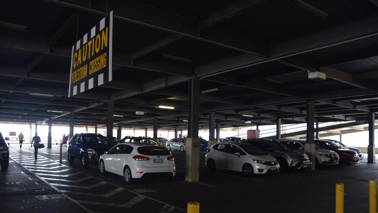 The Kern Arcade carpark.