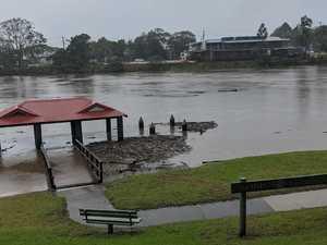GALLERY: Flood water rises in M'bah as residents evacuate