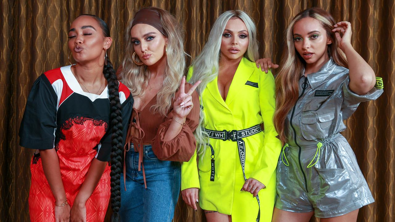 Leigh-Anne Pinnock, Perrie Edwards, Jesy Nelson and Jade Thirlwall of British girl group Little Mix. Picture: Justin Lloyd