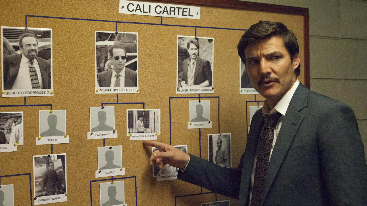 Pedro Pascal played DEA agent Javier Pena in Netflix series Narcos.