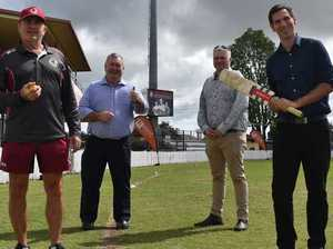 LIT UP: It's game on for better lighting at Salter Oval