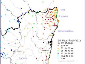 More than 100mm of rain at 30+ weather stations