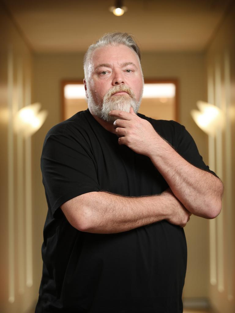 A video shout out from shock jock Kyle Sandilands will set fans back $US1000. Picture: Richard Dobson