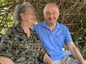 'OVER THE MOON': Pair reunited after decades apart